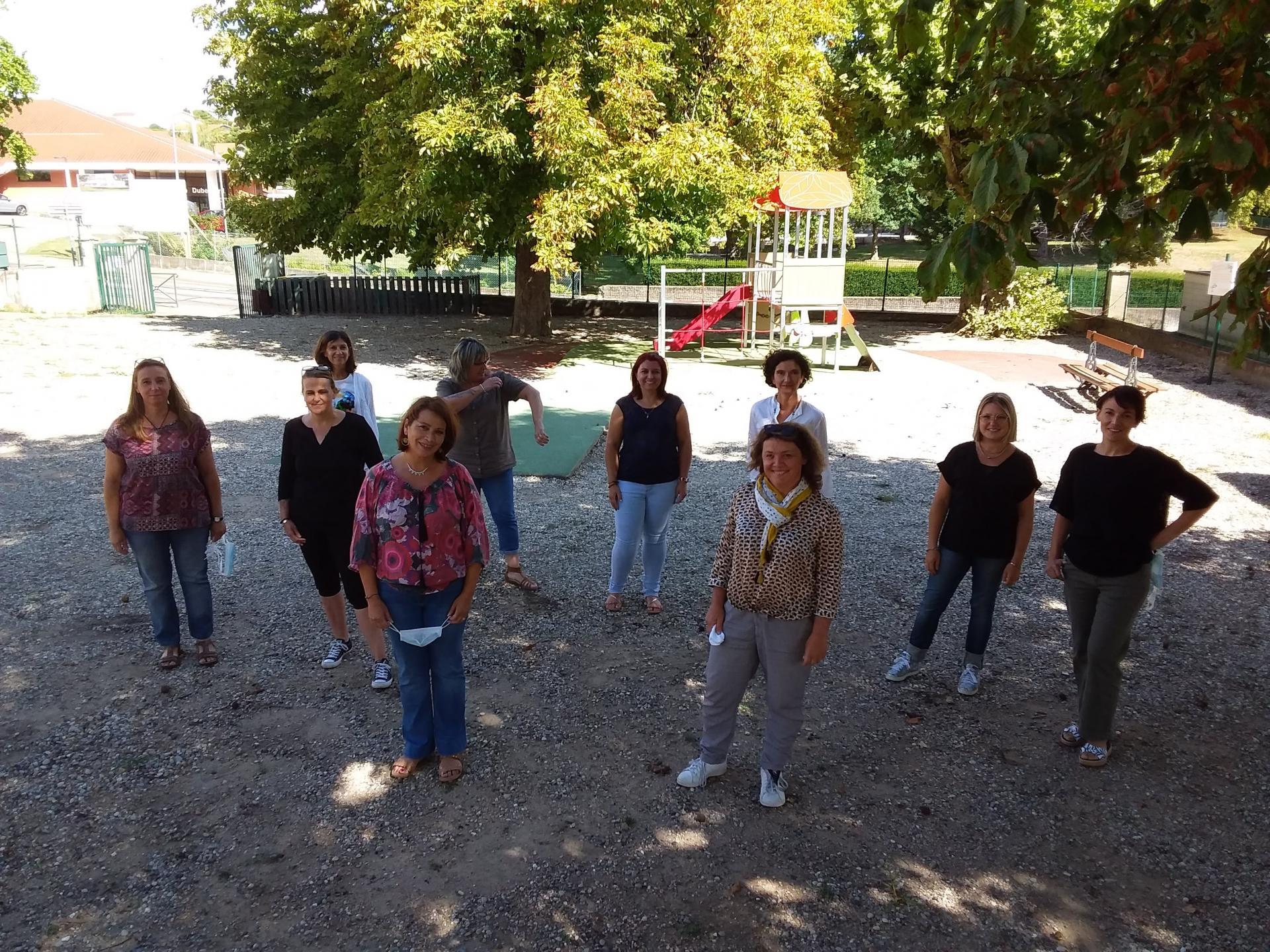 Equipe pédagogique école maternelle