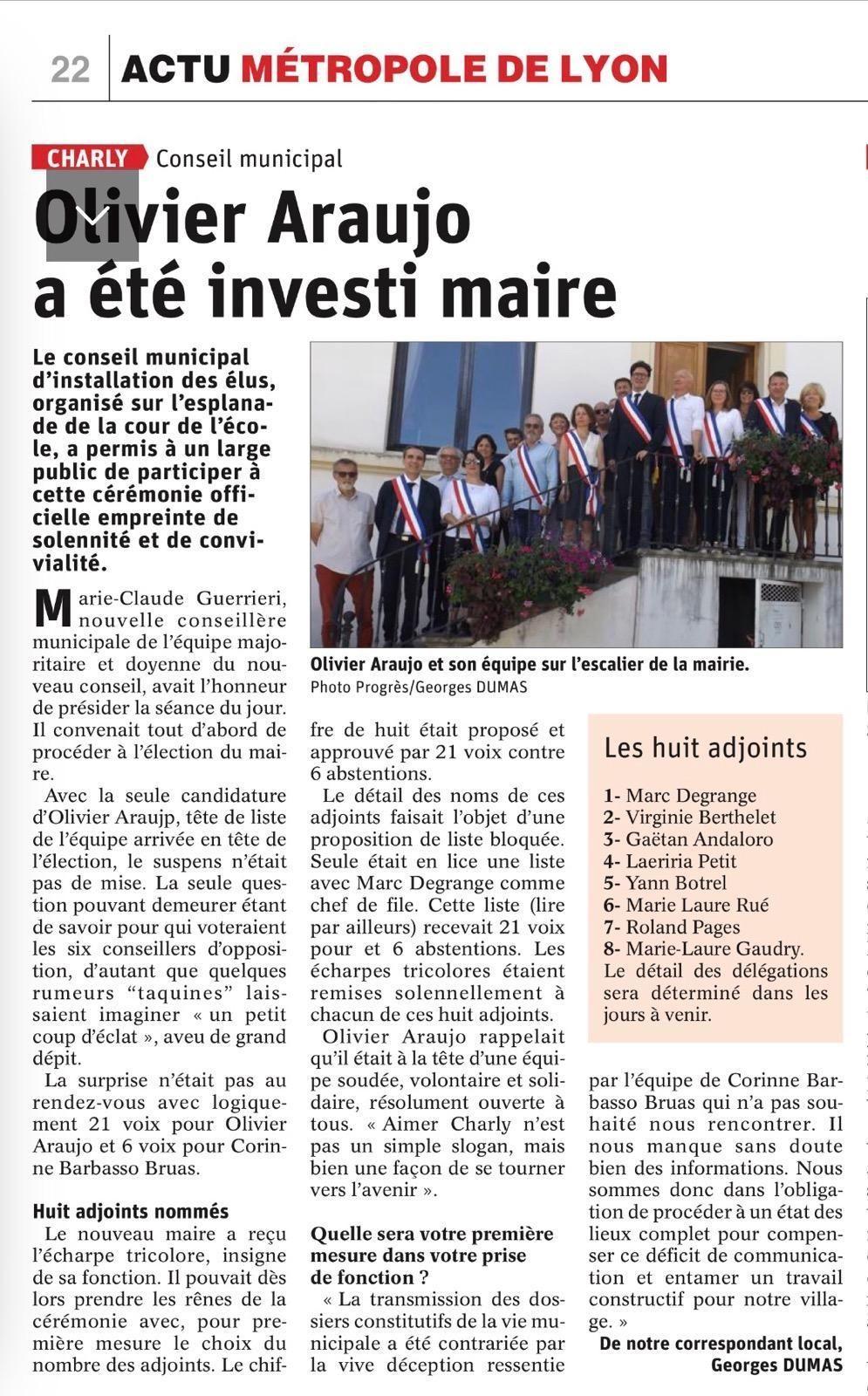 Investiture article