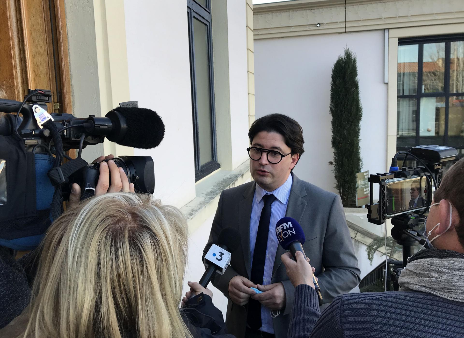Conférence de presse des maires